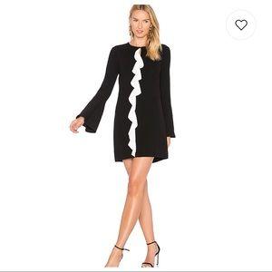 NWT Rachel Zoe Monner Bell Sleeve Ruffle Dress